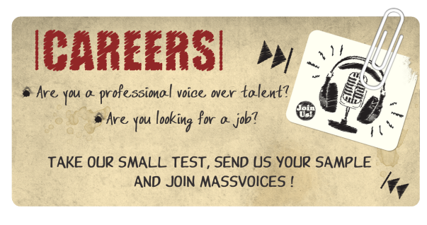 Start a Career With MassVoices